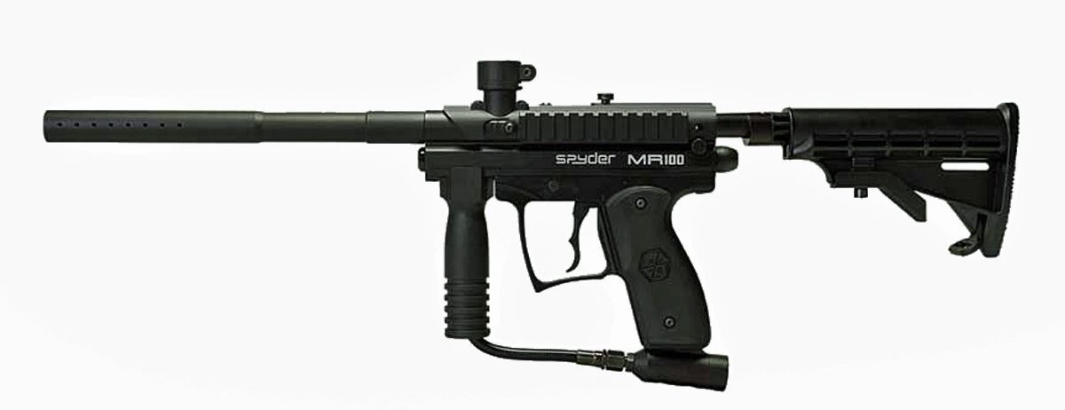 Spyder MR100 Pro Paintball Marker Gun Review