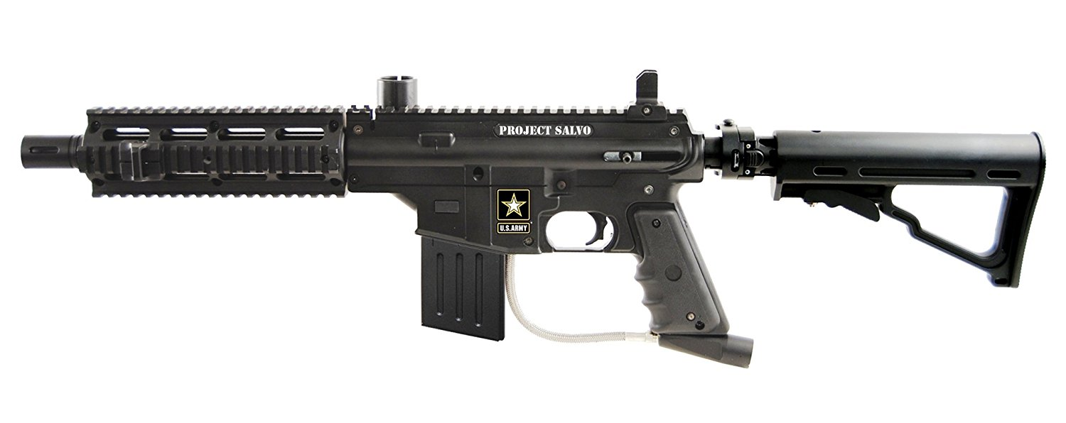 U.S. Army Project Salvo .68 Caliber Paintball Gun Review