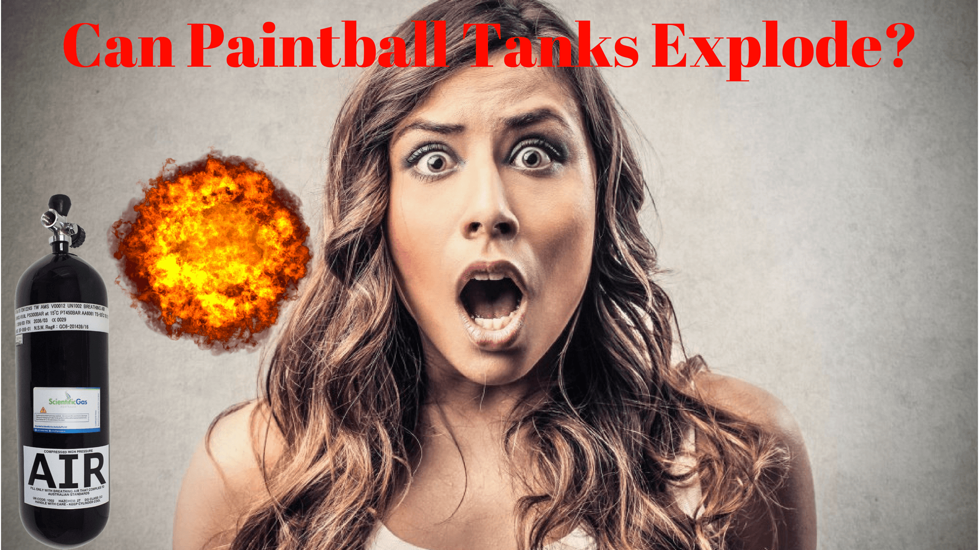Can Paintball Tanks Explode
