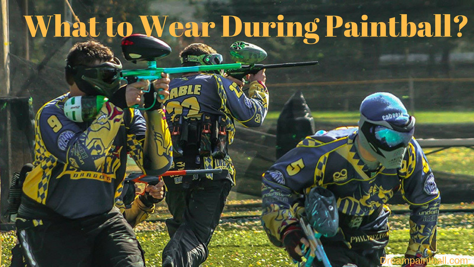 What to Wear During Paintball
