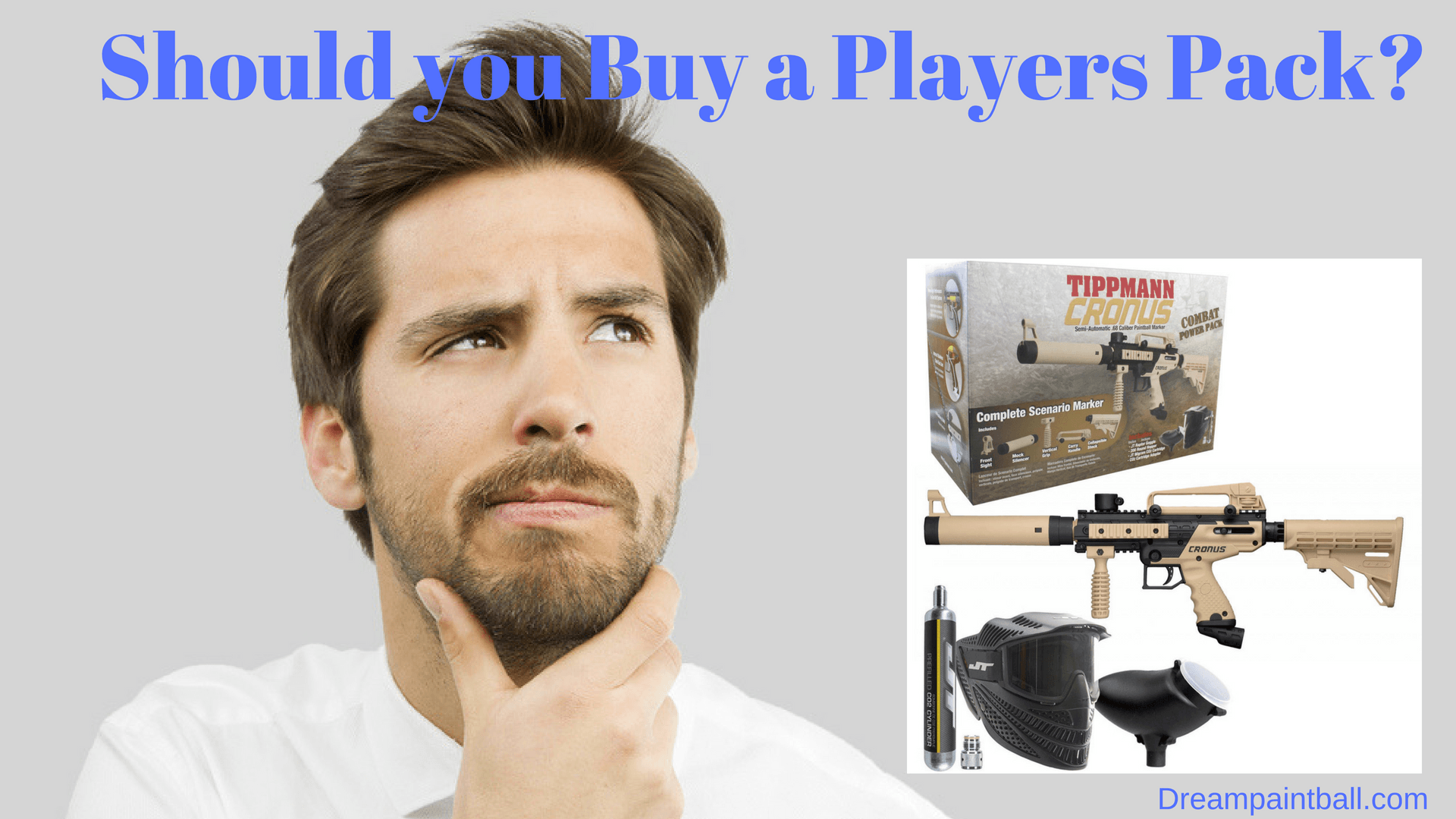 should you buy a paintball players pack?