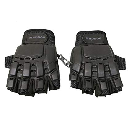 Maddog Tactical Half-Finger Paintball Airsoft Gloves Review