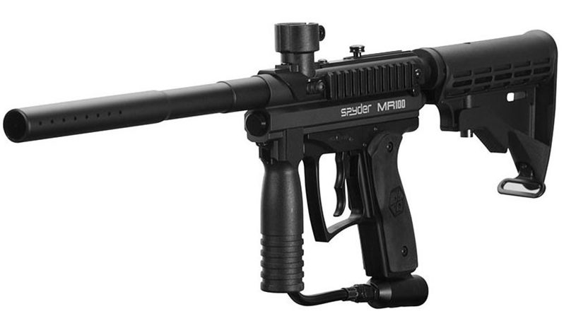 Spyder MR100 Pro Sniper Paintball Gun Review